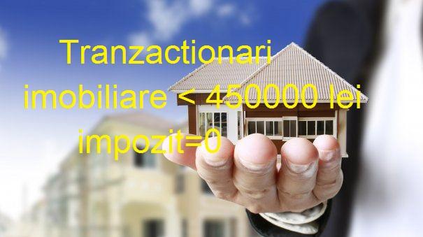 tranzactii imobiliare 450000lei